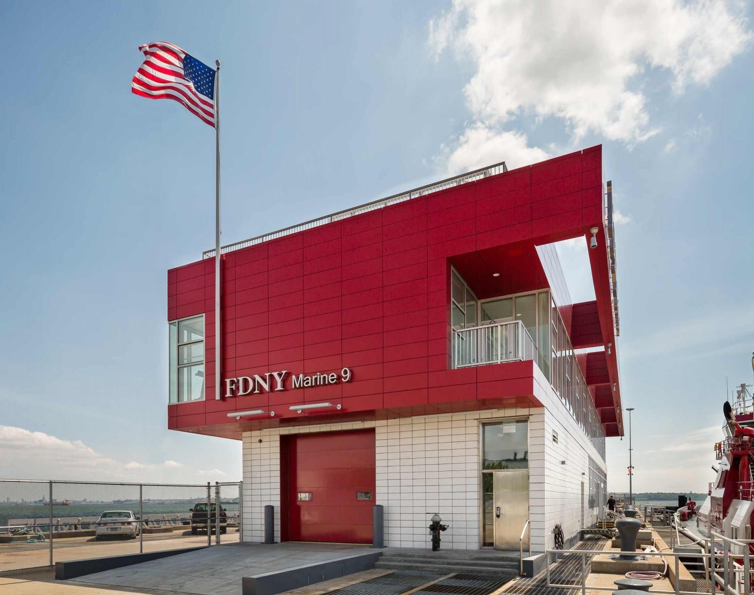 FDNY Marine 9 Barracks